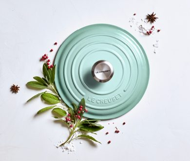 We are giving away a timeless piece from Le Creuset's latest Sage collection