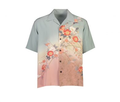 Vintage Japanese Kimono Shirting