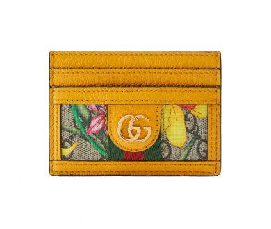 Ophidia GG Flora Card Case