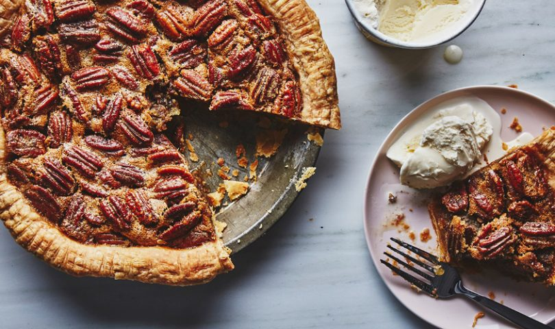 Just in time for the festive season, here's the only recipe you need for a cinnamon-spiced pecan pie