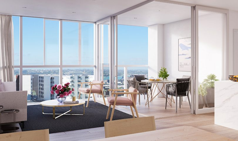 Apartment complex The CAB is set to revolutionise inner-city living