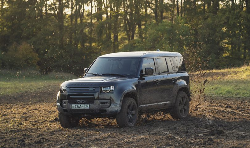 The new Land Rover Defender is set to live up to its legacy in the next James Bond film
