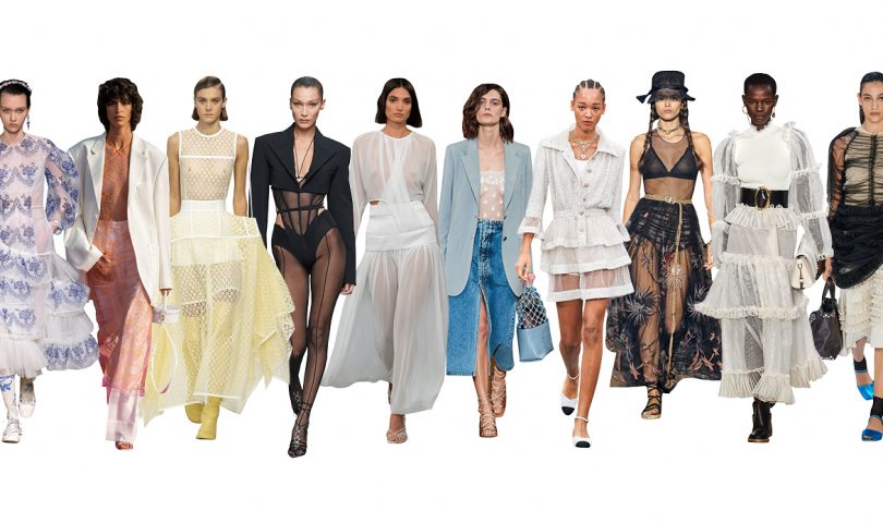Dare to bare in the new season trend that reveals just the right amount