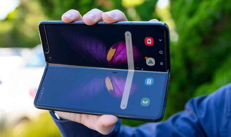 Welcome to the future — Samsung has just released a phone with a foldable screen