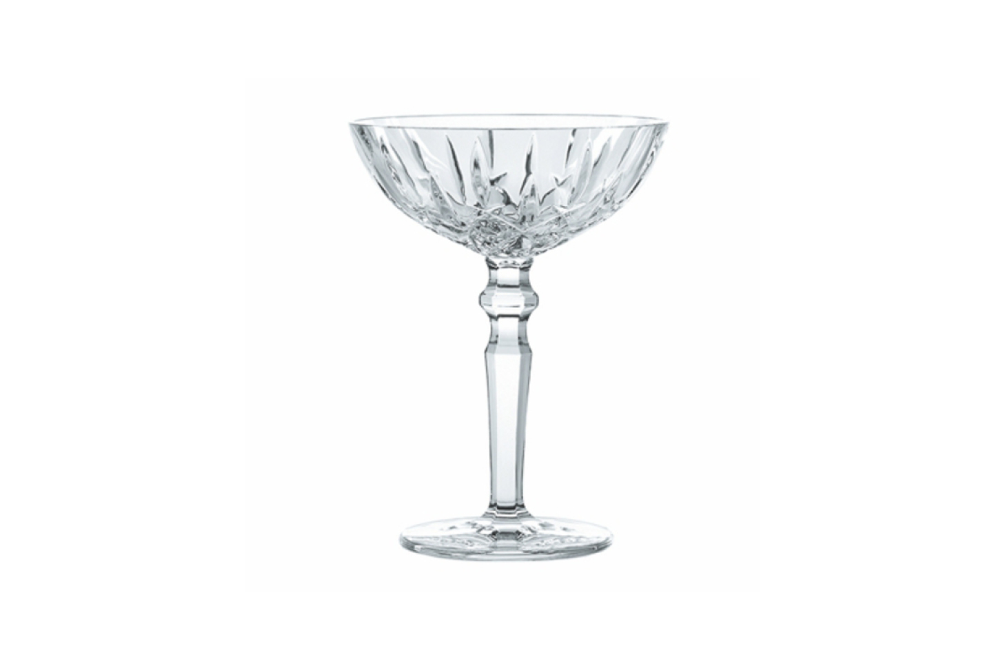 Noblesse Cocktail / Champagne Saucer Pair