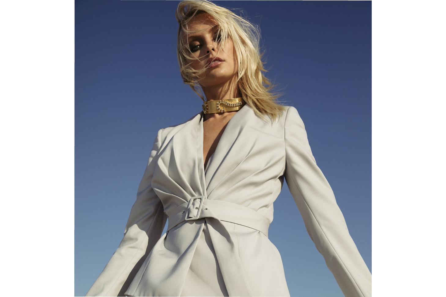 Brigitte Pleated Jacket