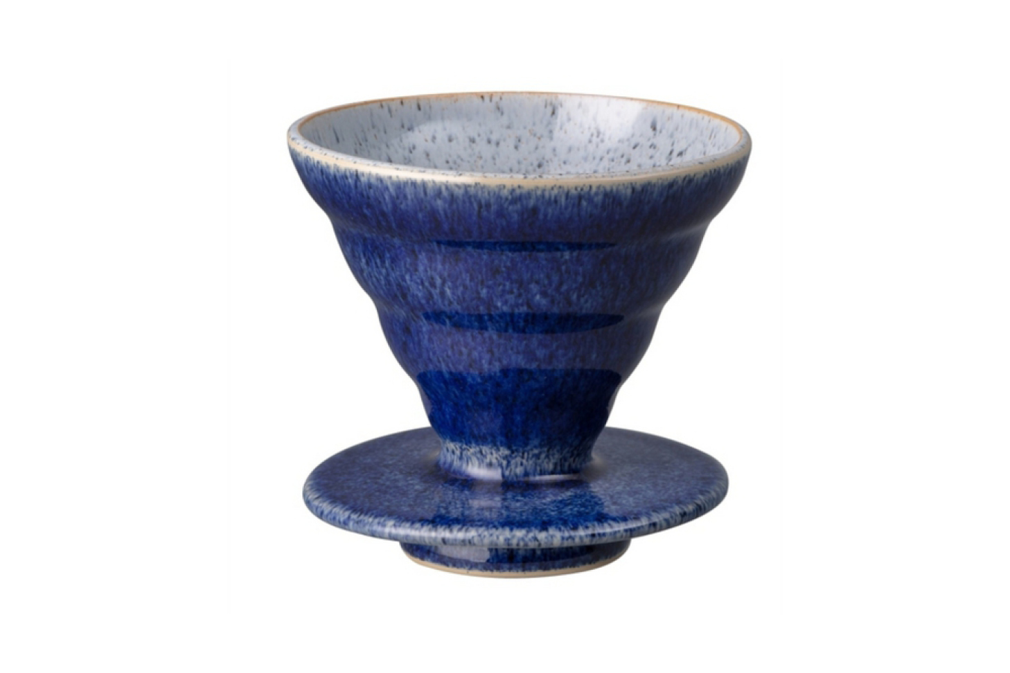 Denby Studio Blue Brew Slow Coffee Dripper