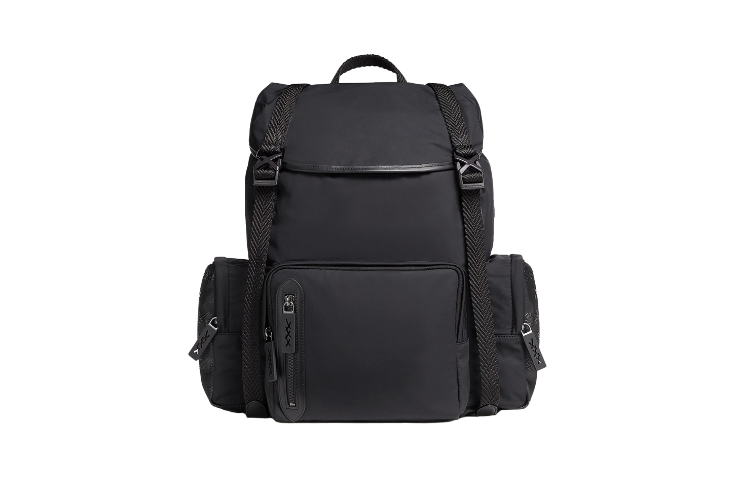 Couture Technical Fabric and Canvas Backpack