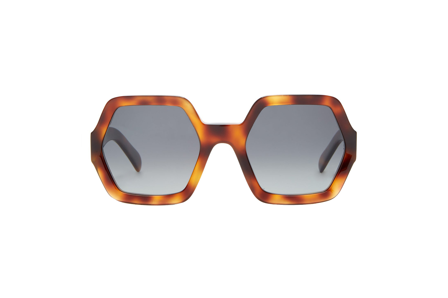 Celine Oversized Sunglasses in Acetate with Polarized Lenses