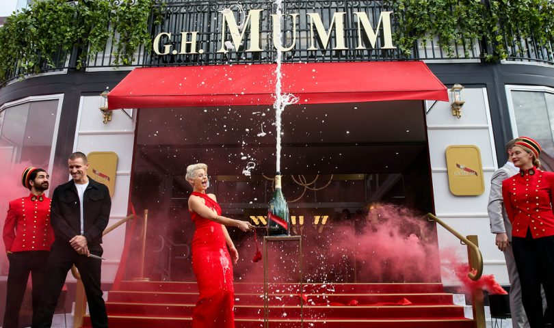 Champagne Mumm's Maison is set to be the ultimate place to celebrate the 2021 America's Cup