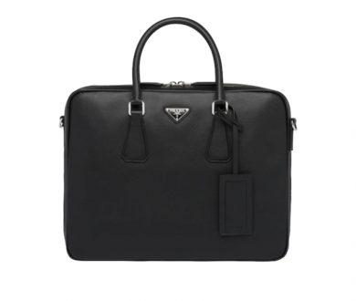 Prada Saffiano leather work bag