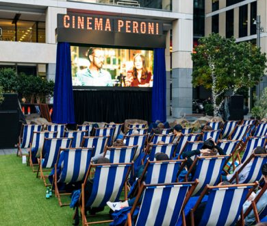 We have your chance to win an alfresco experience with Cinema Peroni