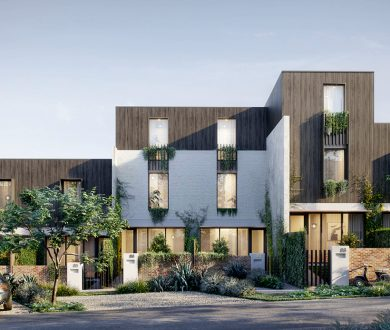 Grey Lynn's newest residential development is offering a quiet respite from inner-city living