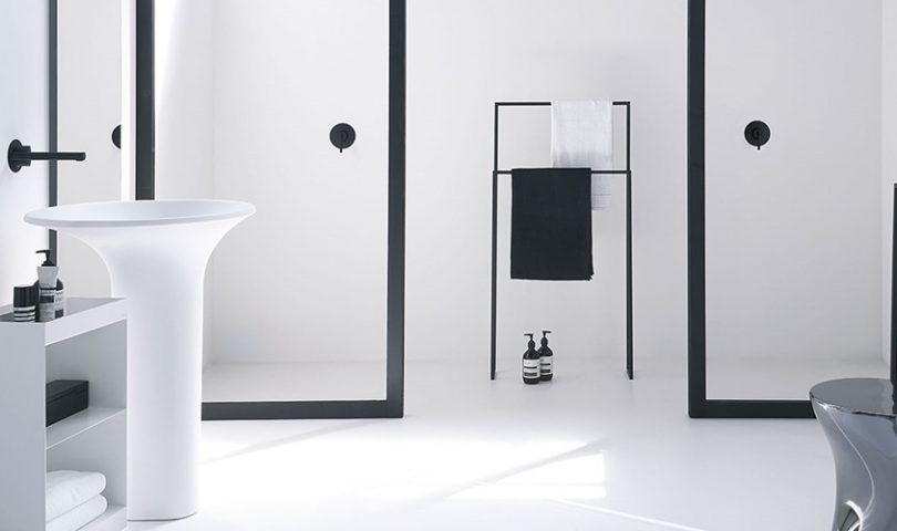 This innovative showerhead has us reimagining traditional bathroom design