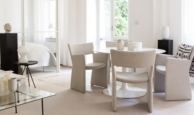 Combining contemporary shapes with tactile upholstery, these are the 5 chairs we have our eyes on