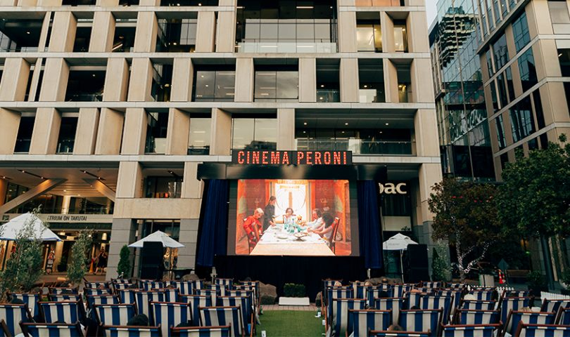 Inside Cinema Peroni's celebration of the best in beer, food and filmmaking
