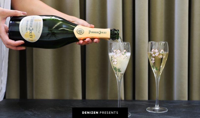 Raise a glass to Maison Perrier-Jouët's new elegant identity and design