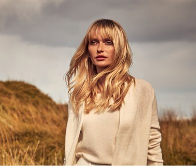 Crack the transeasonal dress code with cool cashmere