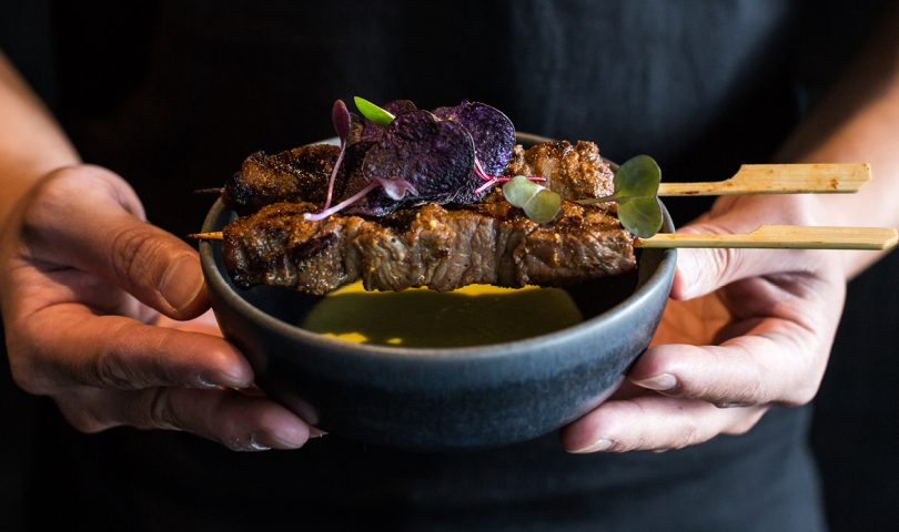 Turn up the heat at home with Azabu's delectable Wagyu beef skewers recipe