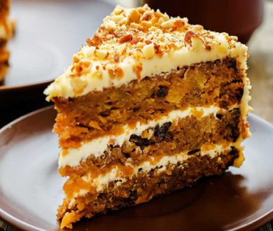 The ultimate triple-layered carrot cake recipe that's three times the fun