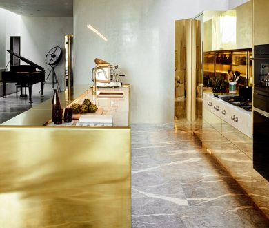 This award-winning home in Melbourne has the Midas touch