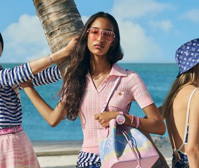 Tie-dye for. Introducing Louis Vuitton's Shibori inspired LV Escale collection