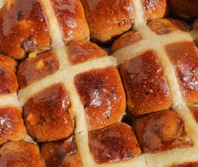 Here's where you can get your Hot Cross Bun fix over the Easter Weekend