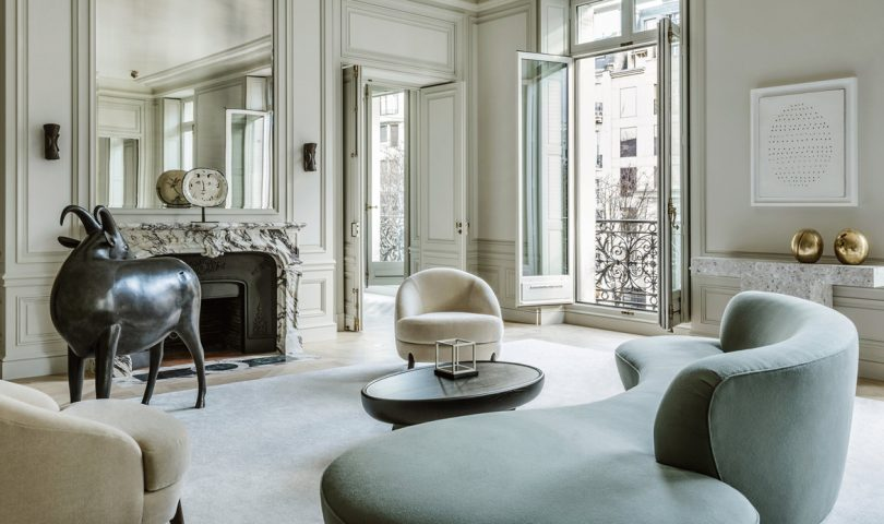 This flawless Parisian apartment is a masterclass in effortless chic