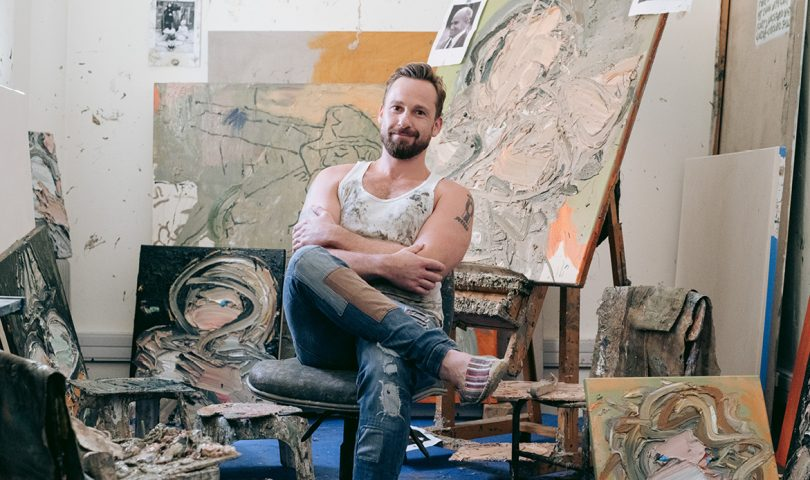 The long road to artist Toby Raine's overnight success