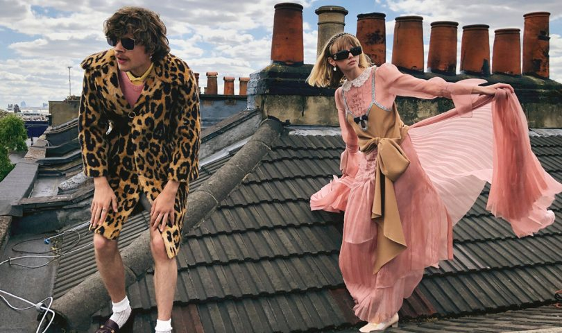Gucci enlists models as stylists and photographers for their new campaign
