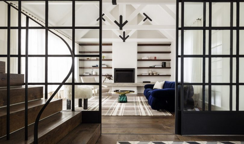 A study in contrasts harmoniously comes together in the Balancing Home