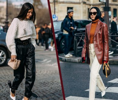 The best leather pieces you should invest in this season