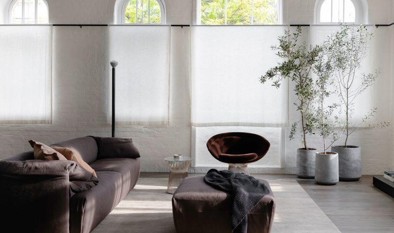 This sophisticated take on loft living revitalises a former boot seller's store