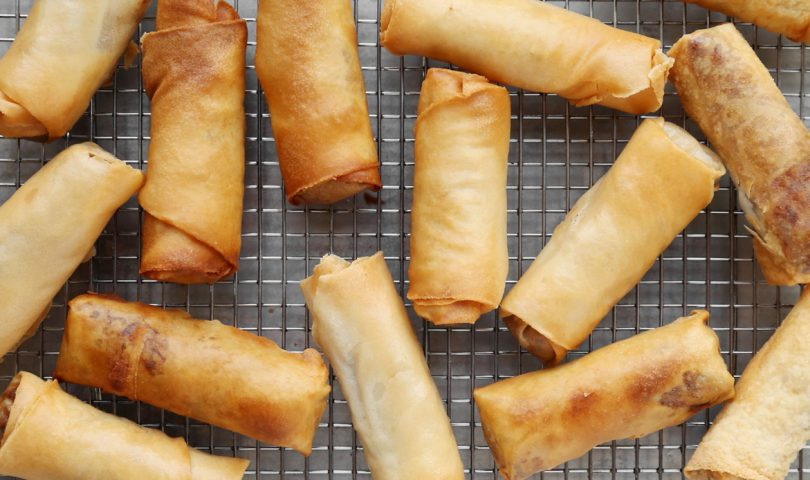 Did somebody say cheeseburger spring rolls?