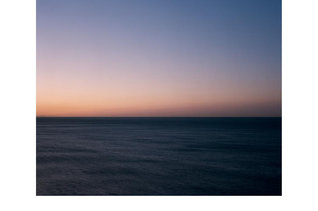 'Seascape #22 (Orange Dawn)' by Harry Culy (2015)