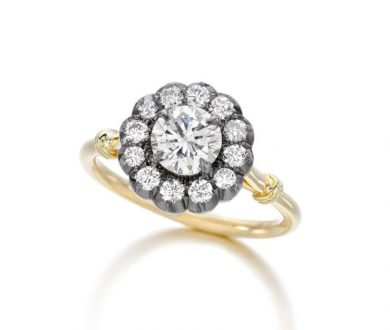 Daisy Halo Ring by Jessica McCormack