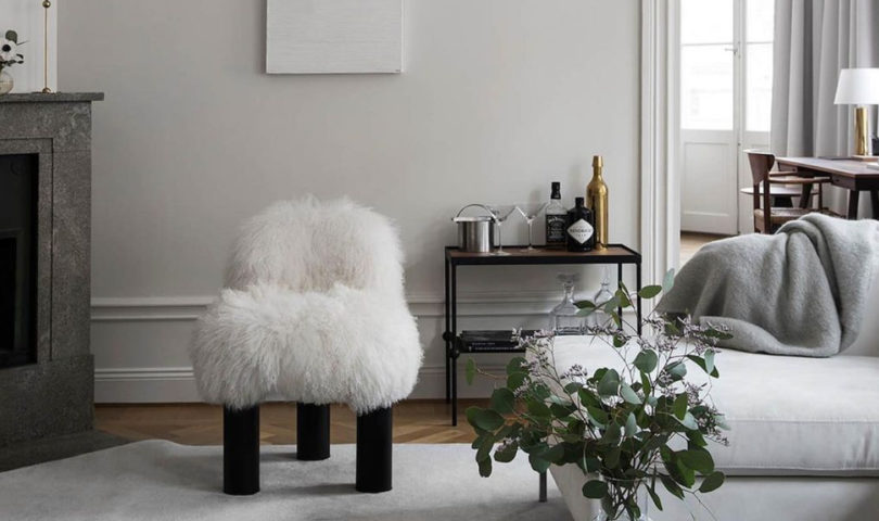 Embrace fuzzy logic with this fluffy furniture trend that takes cosy to the next level