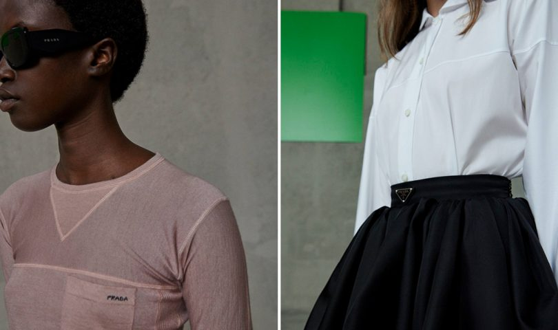Prada's latest collection channels soothing simplicity for complicated times