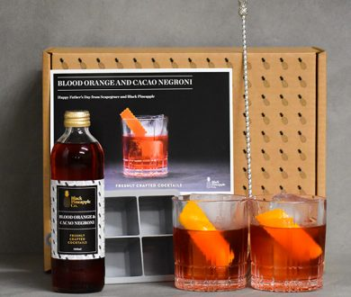 Blood orange and cacao negroni pack