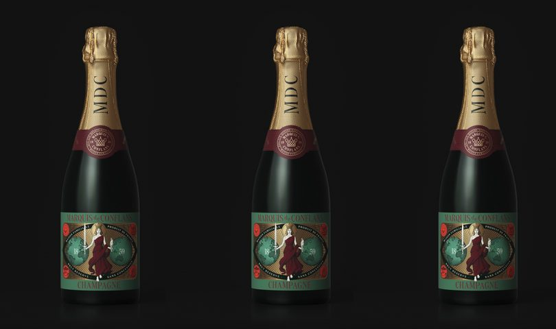 Get to know MDC, the forward-thinking champagne that's here to lighten the mood