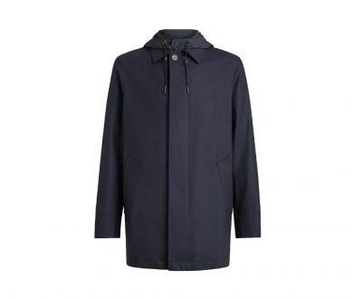 High performance packaway coat