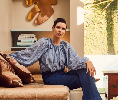 Designer Karen Walker has dipped into her past to create her latest collection for Resene