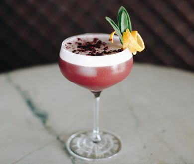 Bring the bar to your abode with this blackberry, gin and sage cocktail recipe