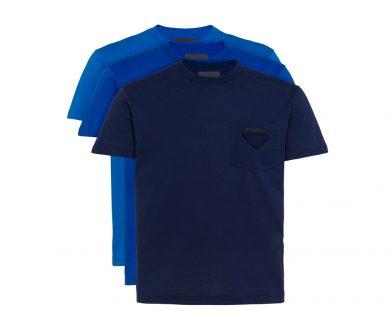 Prada jersey t-shirts, 3-pack
