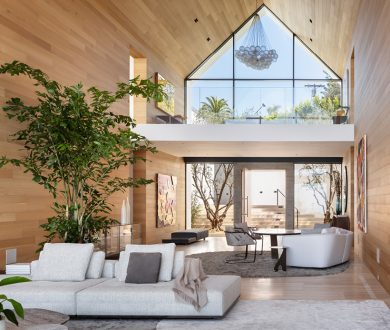 This breathtaking home breaks from convention to become the ultimate urban sanctuary