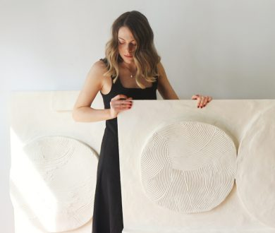 Meet Kate Forsythe, the talented artist behind Studio Ro blending painting and sculpture