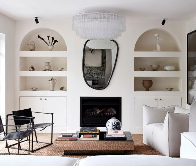 This refined apartment makes the most of a modern, monochromatic palette