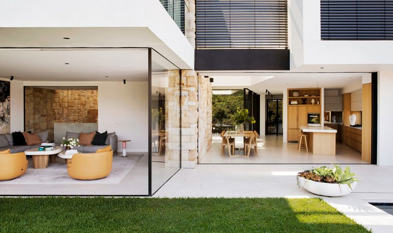 This relaxed home perfectly balances the demands of family life with high-end design