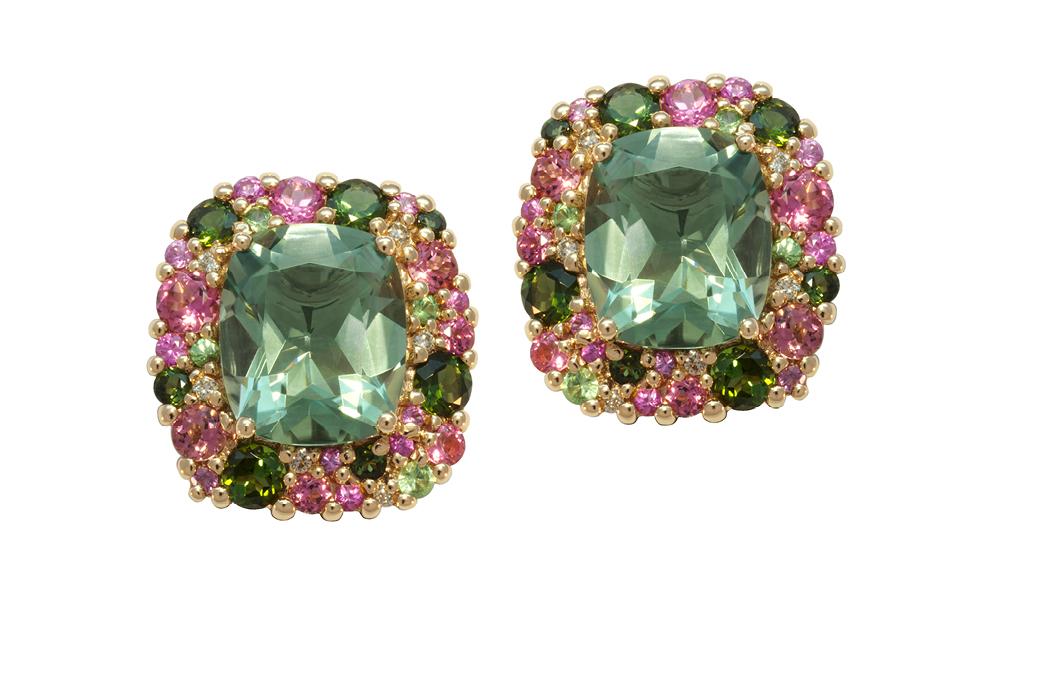 Screaming Green Earrings