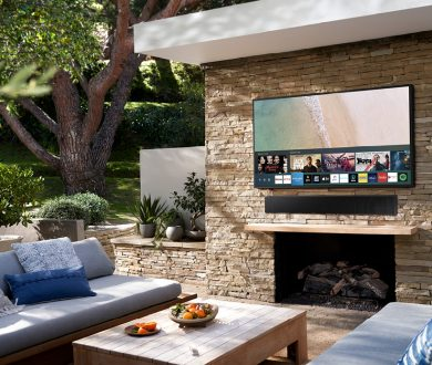 This new outdoor TV is here to take al fresco entertaining to the next level